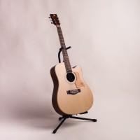 Gitar Akustik Mandalika L-02 Natural Original Full Set