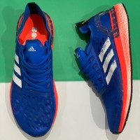 Sepatu Adidas Ultra Boost PB Glory Blue White Coral Black
