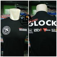 T-shirt Kaos Jumbo Team Glock Indonesia Big Size 2XL -4XL High Quality