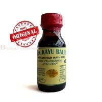 Minyak kayu belitung balitung Asli + Biji Kayu Ulin 100ml Botol KACA