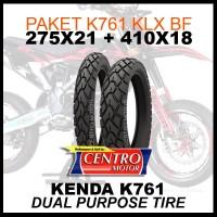BAN SUPER MOTO KLX150BF/CRF150. KENDA K761 275X21+410X18.DUAL PURPOSE