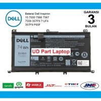 Baterai Original Dell Inspiron 15 7566 7567 7557 7559 71JF4 357F9