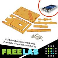 Kotak Akrilik Transparan Arduino Mega 2560 R3 Leonardo Acrylic Case