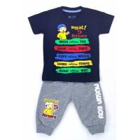 Setelan Anak laki - Baju Anak Celana Joger 1-9tahun mommyscare - nevi, S