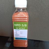 Pakan Burayak Ikan NRD 5/8 (500-800 mikron) isi 100 gram