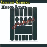 Stiker Pelindung Frame Sepeda Motor Frame Guard Sticker Set M