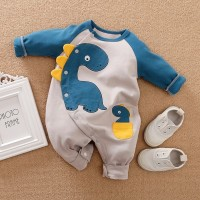 Baju Bayi Anak Laki-laki Jumper Lengan Panjang Baju Lucu Baju Kodok