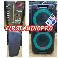 Speaker Portable Meeting Wireless ASATRON CHAMPION 2 x 10 inch