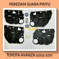 TOYOTA AVANZA 2003-2011 Peredam Suara Pintu Aksesoris Mobil VTECH PnP