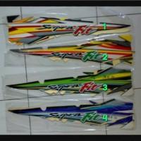 List Body / Strping Body Honda Supra Fit 2004-2005
