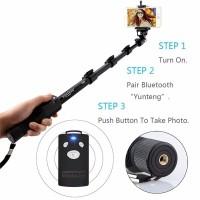 Tongsis Bluetooth Yunteng YT-1288 + Remote + Holder U