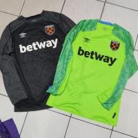 Jersey Shirt Bola Umbro Goalkeeper GK West Ham United original no nike