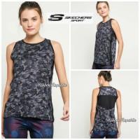 Sk*chers Woman Tank Top Singlet Olahraga Sport Wanita Running Fitness