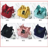 IPI.ID Bag Mini WB180 Tote Bag Kanvas Tas Wanita 2 in 1 Women