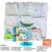 Paket Hemat Perlengkapan Baju Bayi Baru Lahir (New Born) POLKADOT 03
