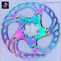Rem Cakram Sepeda Lipat SYTE Rotor Disc Brake 160mm Rainbow ST-H 412