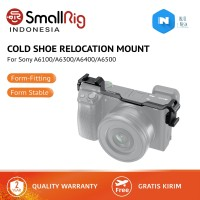 SmallRig Cold Shoe Relocation Mount for Sony A6300/A6400/A6500 2334