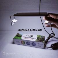 Lampu LED Kandila S200 10 Watt Aquascape Aquarium Akuarium 4 Warna