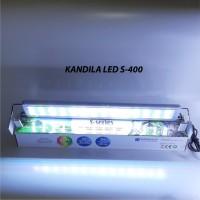 Lampu LED Kandila S400 18 Watt Aquascape Aquarium Akuarium 4 Warna