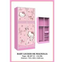 Lemari Pakaian Baju Anak Baby Locker Karakter Hello Kitty BL HK 12-116