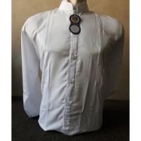 baju koko taqwa habib ( safari putih polos)
