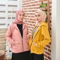 Soka Jacket - Jaket Fashion Wanita Baby Canvas - Jaket Polos Remaja