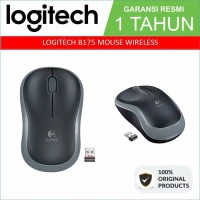 Logitech Wireless Mouse B175 Original Garansi Resmi