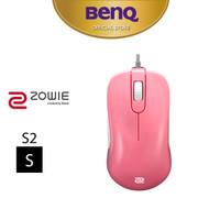 BenQ ZOWIE S2 Divina Blue & Pink 3360 Sensor Mouse Gaming (SMALL) - Merah Muda