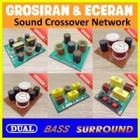 Dual Bass Surround Sound Crossover Network Audio Sistem