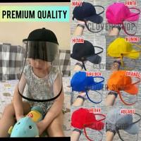 Topi Corona Anak for Kid Premium APD Face Shield Masker korona
