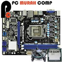 Paket Mainboard 1155 H61 Asrock Dengan Processor i3 2120 bonus fan