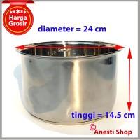Inner Pan Stainless Steel Rice Cooker Cosmos 2 L - CRJ-9301 - CRJ-9303