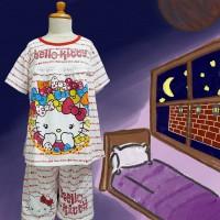 Baju Tidur Anak Lil Star (Hello Kitty Ribbon) St. Cln pdk lgn pdk