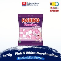 Haribo Chamallows Pink & White Marshmallow 70 g