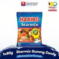 Haribo Starmix Gummy Candy Permen 80 g