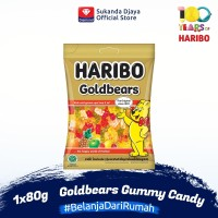 Haribo Goldbears Gummy Candy Permen 80 g