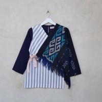 Baju Batik Tenun Mix Lurik