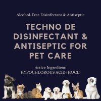 TECHNO DE Disinfectant & Antiseptic 250ml / HOCL / Hewan & Kandang