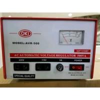 Promo Stabilizer / stavol Regulator Listrik OKI 500 watt Stabilizer