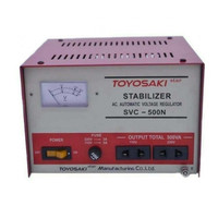 Stabilizer SVC-500N Toyosaki 500 Watt ( Listrik Stabil 220V )