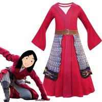 Kostum Mulan Disney Princess Murah Baju Pesta Pentas Kungfu Halloween