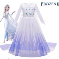 Kostum Frozen 2 Elsa Baju Dress Pesta Anak Princess Disney Elsa Anna