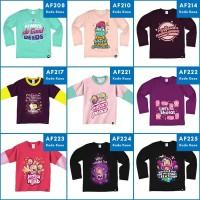 Kaos Anak Muslim Afrakids Lengan Panjang - T-Shirt Anak