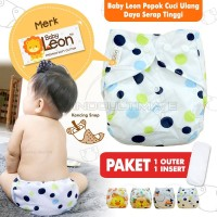 Clodi Popok + INSERT Kain Bayi Baby Cloth Diapers Diaper Murah BY-82