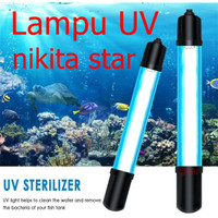 NIKITA STAR 5 7 9 11 watt Lampu UV ultra violet aquarium aquascape