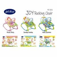 Pliko PK 313 Joy Rocking Chair Bouncer Ayunan Kursi Goyang Bayi Manual