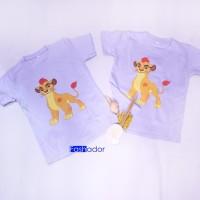 BEST SELLER Kaos / Baju couple kakak adik kartun THE LION GUARD lucu