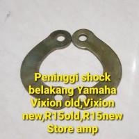 Peninggi Shock belakang Yamaha Vixion old,Vixion new,R15old,R15New