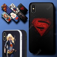 HUAWEI Honor 3c Lite Superman Supergirl DC Hard Soft Case Casing Cover