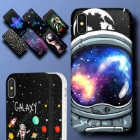 HUAWEI Honor 3c Lite Astronot Galaxy Angkasa Hard Soft Case Casing